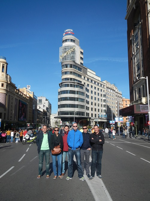 stedentrip madrid